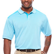Claiborne Yoke Block Polo T-Shirt