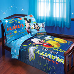 Disney Mickey Mouse 4-pc. Toddler Bedding