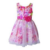Lilt Sleeveless Party Dress - Preschool Girls