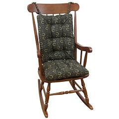 Klear Vu Horseshoe Jumbo Universal Rocking Chair Cushions