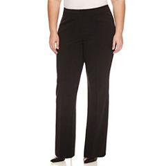Worthington Straight Leg Modern Fit Trousers Plus