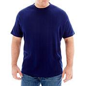 Claiborne® Drop-Needle Tee - Big & Tall