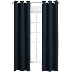 Sun Zero™ Talon Room-Darkening Grommet-Top Curtain Panel