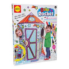 ALEX Toys Craft Color a Rocket Children's Kit