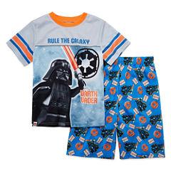 2pc. Darth Vader Lego Kids Pajama Set Boys