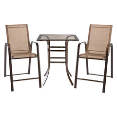 Outdoor Oasis™ Newberry Counter Height Sling Chair  Set of 2