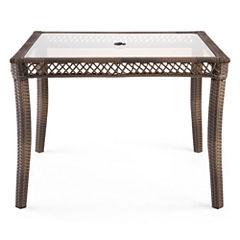 Outdoor Oasis™  Latigo Wicker Square Table