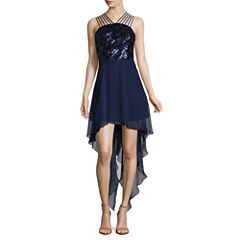 Love Reigns Sleeveless Evening Gown-Juniors