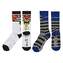Justice League Crew Socks 2-pc.