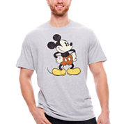 Mickey Hands On Hips T-Shirt-Big And Tall