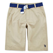 U.S. Polo Assn.® Twill Shorts - Boys 8-18