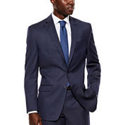 Collection by Michael Strahan Navy Tic Suit Jacket - Classic Fit