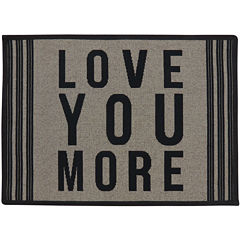 Love You More Rectangular Rug