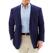 Stafford® Linen-Cotton Sport Coat - Big & Tall
