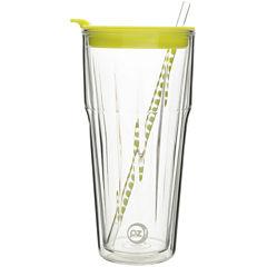 Zak Designs® HydraTrak™ 20-oz. Clear Insulated Tumbler with Straw