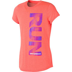 New Balance Graphic T-Shirt-Big Kid Girls