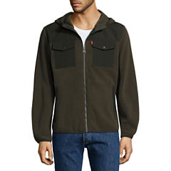 Levi's® Hooded Fleece Jacket