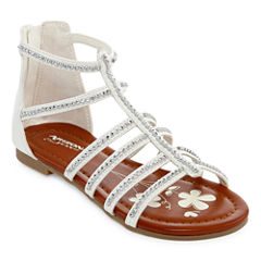 Arizona Molly Girls Gladiator Sandals - Little Kids