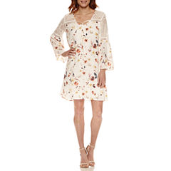 a.n.a Bell Sleeve Shift Dress