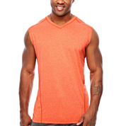 MSX By Michael Strahan Sleeveless Crew Neck T-Shirt-Big and Tall