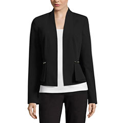 Worthington Draped Peplum Jacket