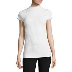 Worthington Cap Sleeve Pullover Sweater