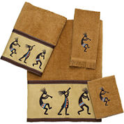 Avanti Kokopelli Bath Towels