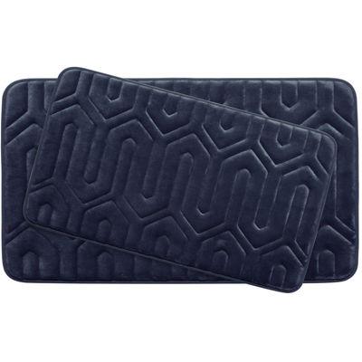 Bounce Comfort Thea Memory Foam 2 Pc. Bath Mat Set