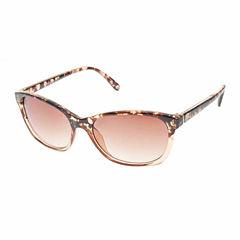 Nicole By Nicole Miller Full Frame Cat Eye UV Protection Sunglasses