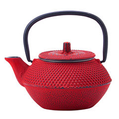 Old Dutch 11 Oz Red Cast Iron Tokyo Teapot