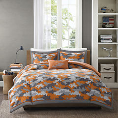 Mi Zone Mikey Camo Comforter Set