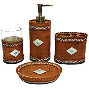 Hiend Accents Navajo 4-pc. Bath Accessory Set