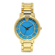 Decree® Concepts Womens Dial Strap Watch