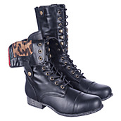 Women&39s Miltary Boots at Shiekh Shoes