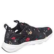 35ebb07157d Reebok FuryLite SR Womens Black Floral Athletic Running Shoe ...