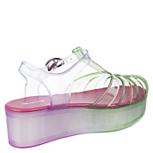 03f231a27d5a Wanted Women s IcePop Platform Jelly Sandal. PreviousNext