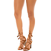 Shiekh Women's Stash-40V Lace-Up High Heel Sandal. PreviousNext