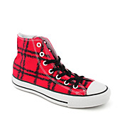 Mens All Star Plaid Hi