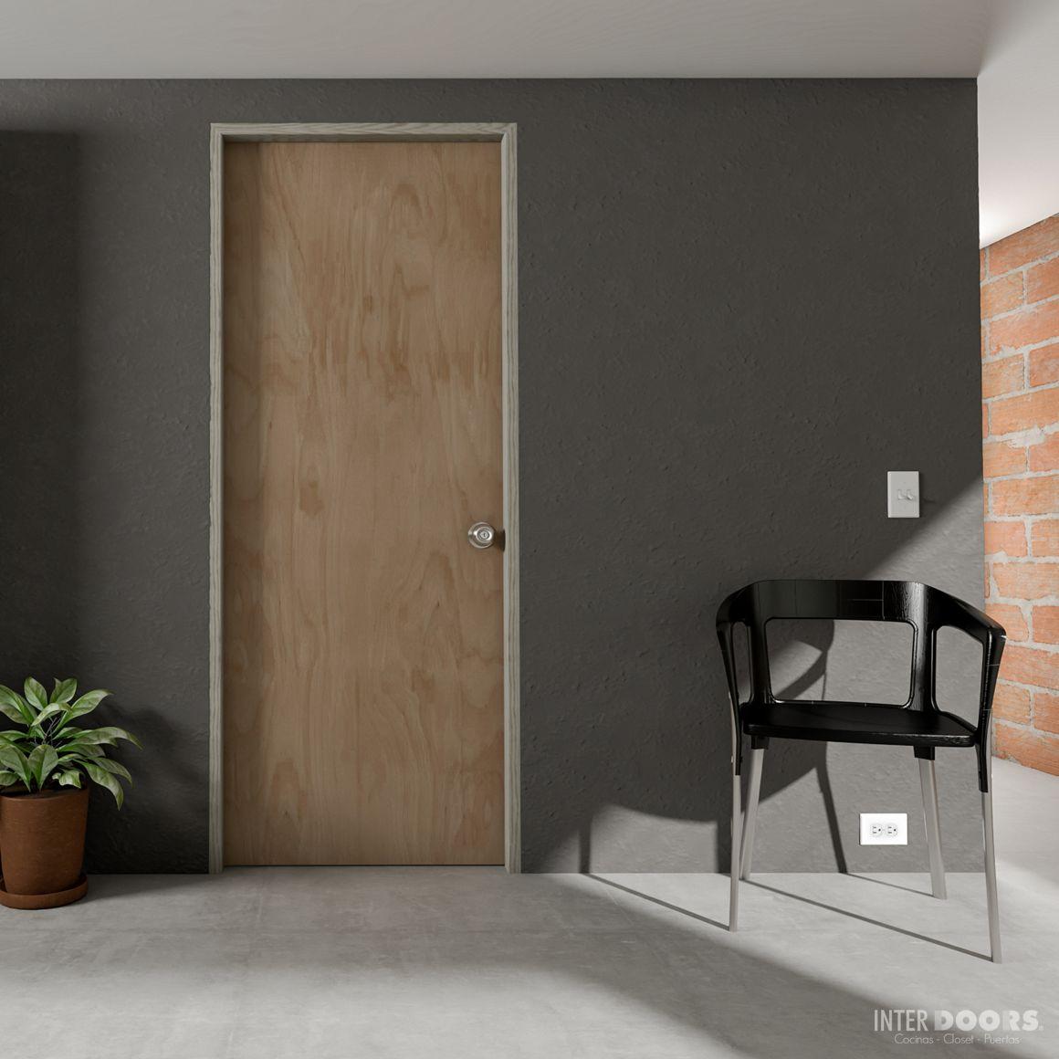 puerta en triplex