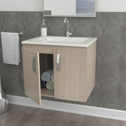 Mueble De Baño Elevado Con Lavamanos