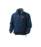 Men's Turfer Advantage Jacket w/ Zip Off Sleeves in Navy