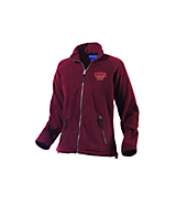 Women's Turfer Women's Katahdin Tek Fleece Jacket in Maroon