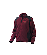 Women's Turfer Women's Pinnacle Fleece Jacket in Maroon