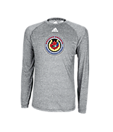 Climatlite Heathered LS Tee Athletic Grey