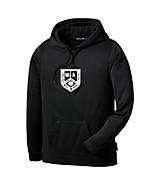 Men's Sport Tek Fleece Hooded Pullover in Navy