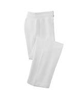 Women's Sport Tek Ladies Fleece Pant in White
