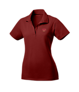 Women's Sport Tek Ladies Micropique Sport-Wick; Sport Shirt in Maroon