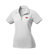 Women's Sport Tek Ladies Micropique Sport-Wick; Sport Shirt in White