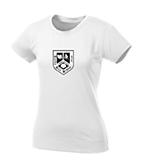 Women's Sport Tek Ladies NRG Fitness Tee in White