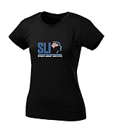 Women's Sport Tek Ladies NRG Fitness Tee in Black